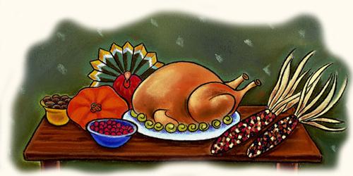 Dibujos de la cena navidad