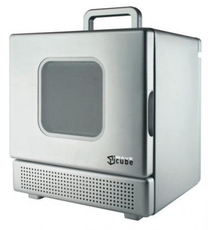 Iwacube el microondas m s peque o sirve para calentar - Microondas muy pequenos ...