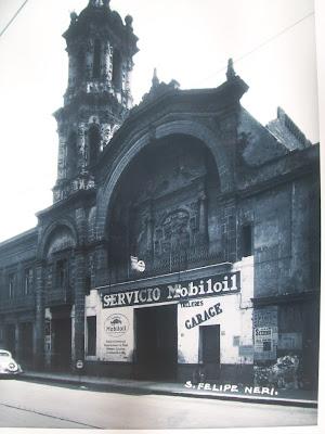 Iglesia De Sn Felipe Neri alrededor de 1937